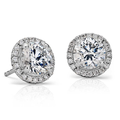 Unique Diamond Earrings at Krieger's