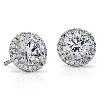 Unique Diamond Earrings at Krieger's